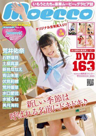【荒井佑奈】moecco(モエッコ) vol.61 動画+PDF書籍セット