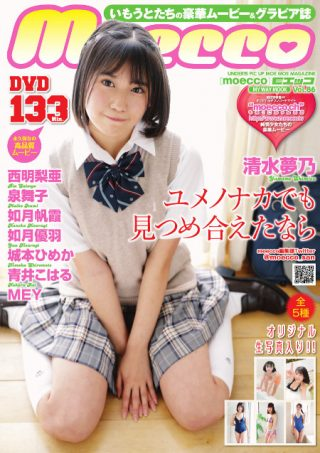 【清水夢乃】moecco(モエッコ) vol.86 動画+PDF書籍セット